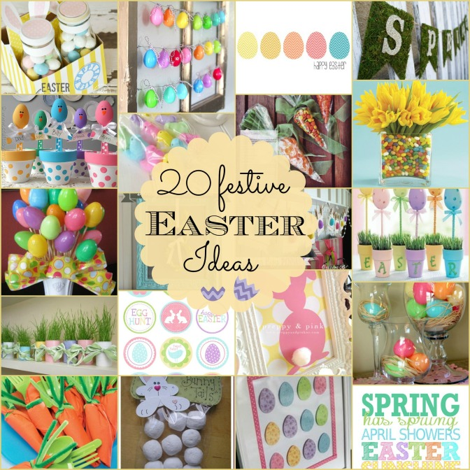 20 Festive Easter Ideas